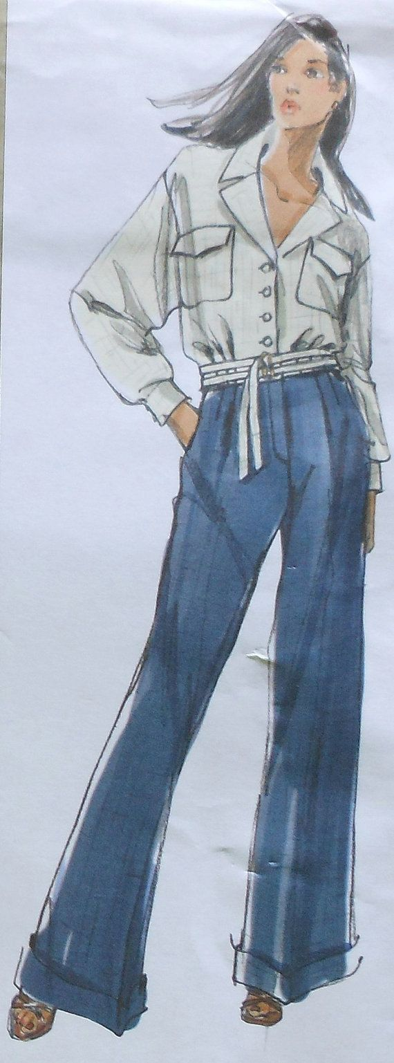 Vogue Jacket and Pants Sewing Pattern