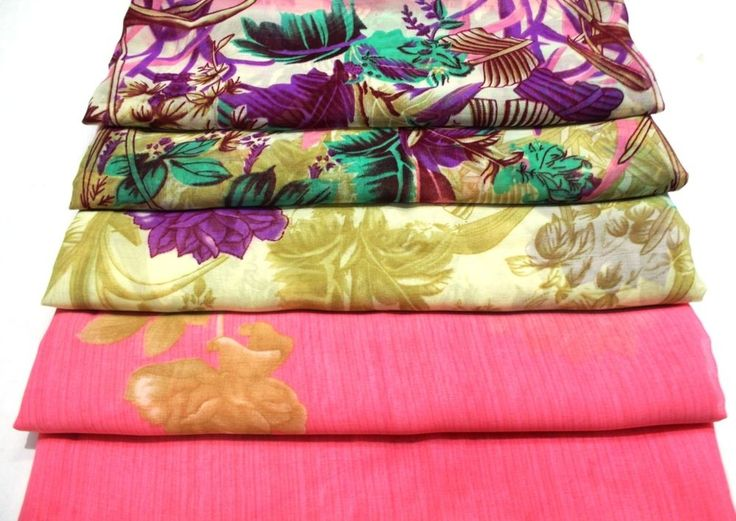 Indian Saree New Fabric Fabric for Craft Dress Women Fashion Fabric By Yard #indian_rainbow #Saree