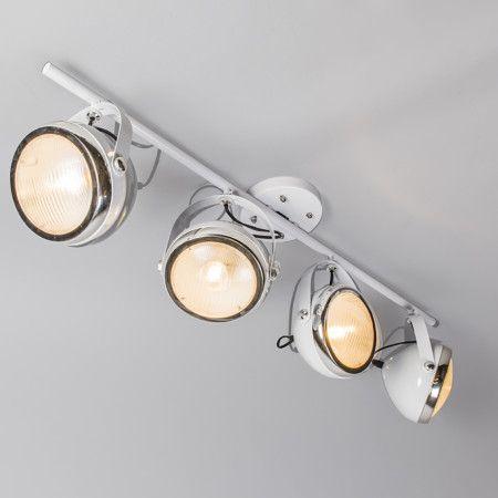 Plafondspot Biker 4 wit - LED spots - LED verlichting - Lampenlicht.be