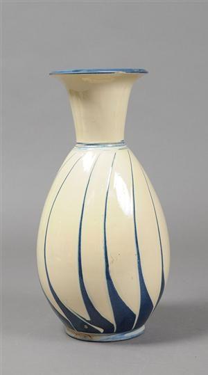 Vare: 3081059 Herman A. Kähler. Gulvvase af glaseret keramik.