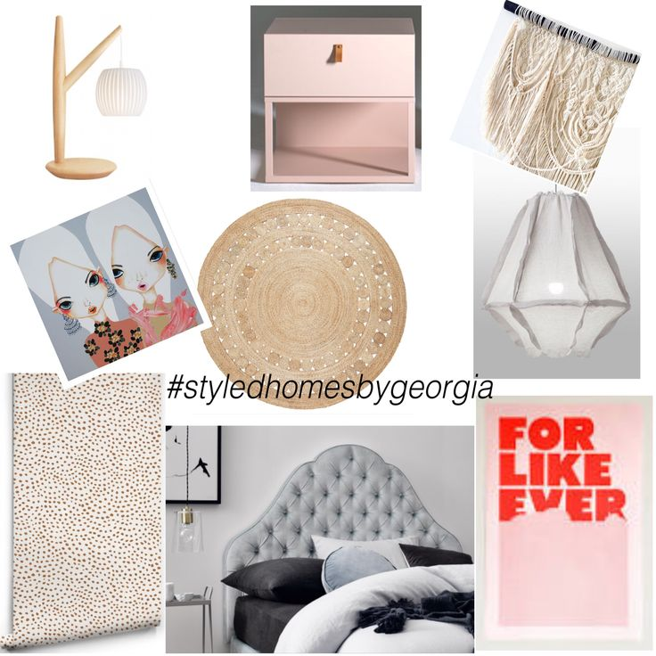 Because I love working with my clients and all jobs are a collaboration of minds - I've added this beautiful weave wall hanging to the original teen bedroom moodboard from a few posts back 💕 #uistylistscout #moodboard #teen #teengirl #bedroom #design #interiors #styledhomesbygeorgia #melbournestylist #propertystylist #interiordecorator