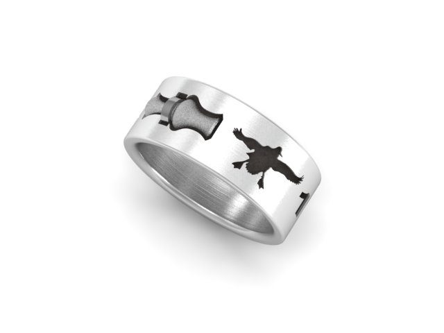 Duck Band Ring With 3D Call