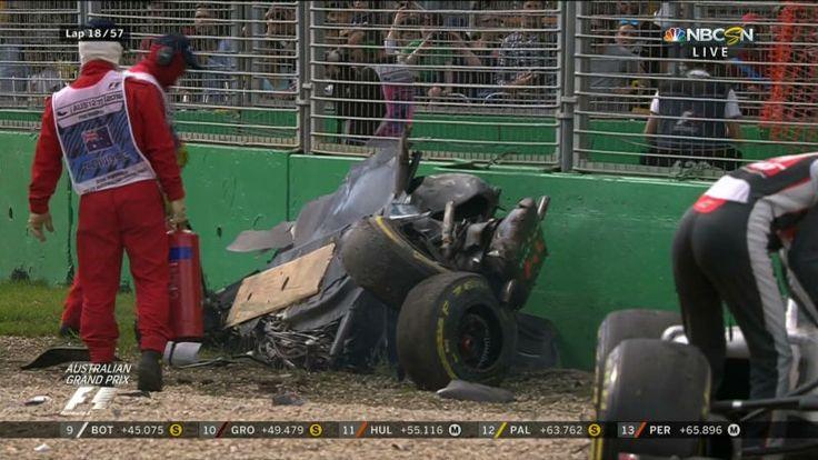 Fernando Alonso Walks Away From Devastating Wreck At Australian Grand Prix