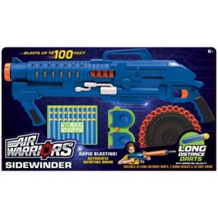 Buzz Bee Toys Air Warriors BZ Ultra Tek Sidewinder, Assorted