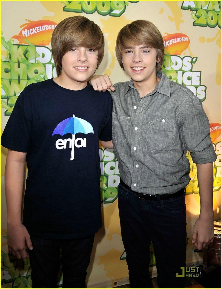 Dylan e Cole Sprouse - Zack e Cody: Gemeos a Bordo em 2009