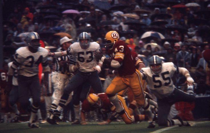 C3-50 1960's Cowboys Redskins Larry Brown Rickerby NFL 35MM orig color slide