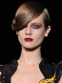loose hair up catwalk - Google Search