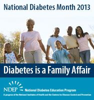 National Diabetes Month 2013 - post this banner on your website!