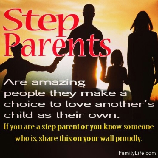 Step parents are amazing people they make a choice to for People s choice 65