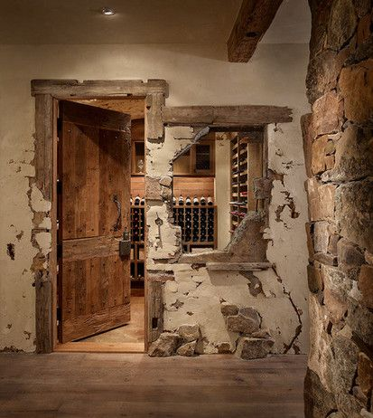 Broken Wall, Contemporary Wine Cellar, Denver