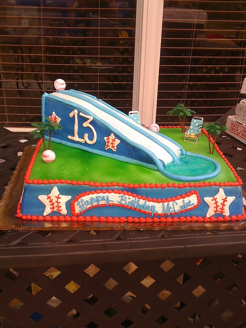 waterslide cakes   Awesome Waterslide Cake by Shirley Forgas/Publix   Flickr - Photo ...