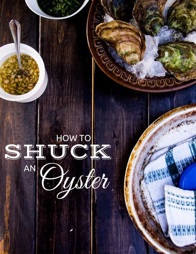 How to Shuck Oysters with a Hockey Puck