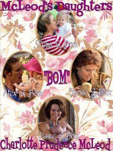 McLeod's Daughters Wallpaper by Elizabeth McFarland- Bom- c Alex, Claire, Tess & Stevie
