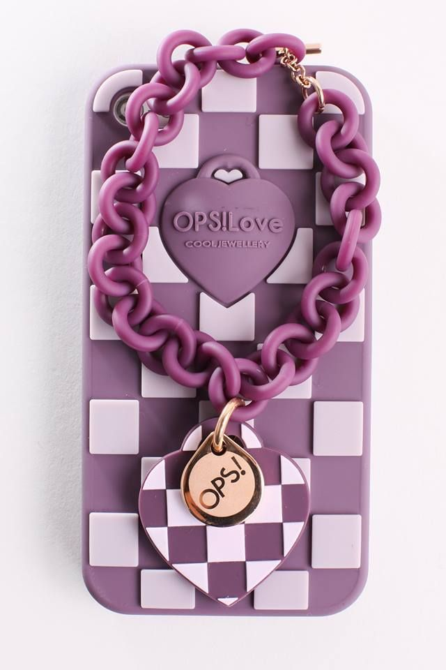 Phone cover OPS!LOVE 15euro per iphone 4/5 e samsung S3/S4 Phone cover OPS!DAMIER per iphone4/5 19euro Gioielleria Zimarino.