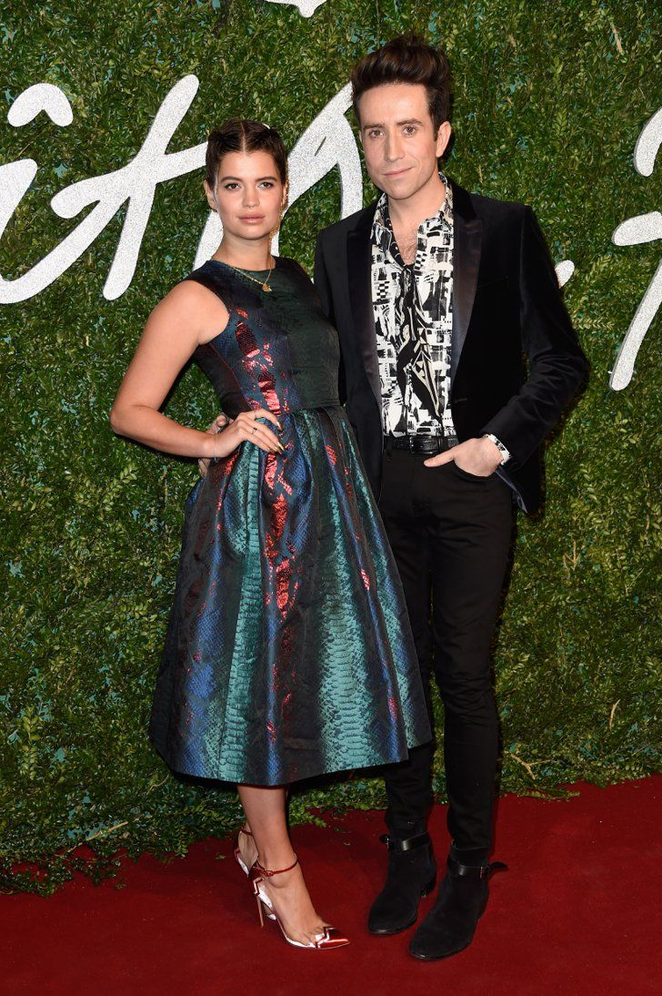 Pin for Later: Les Stars Se Sont Mises Sur Leur 31 Pour Les British Fashion Awards Pixie Geldof et Nick Grimshaw