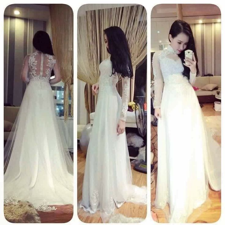Ao dai - vietnamese wedding gown ( i want to wear this at my ...