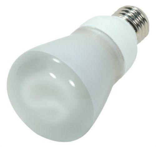 Satco S7254 - 11 watt, R20 Compact Fluorescent Bulb, 2700K, 82 CRI, Medium base