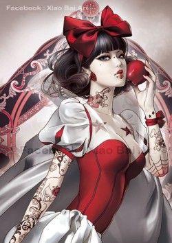 Personagens de desenhos animados tatuados | Tinta na Pele