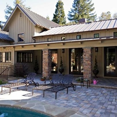 Exterior Metal Roof Design Ideas Pictures Remodel And
