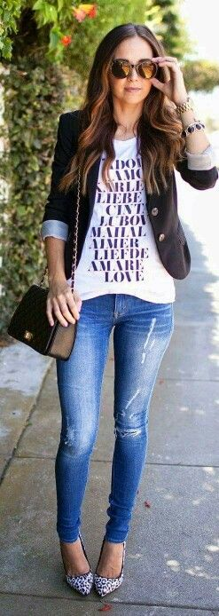 I almost never do graphic tshirts but would do this with a plain white or gray tee