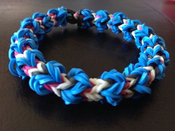 rainbow loom instructions no video