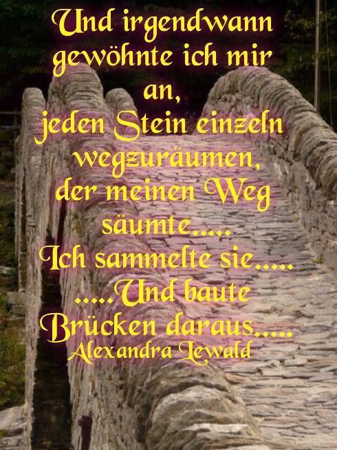 Und_irgendwann schaust Du von der Brücke und siehst all die Lügen um dich her !!!