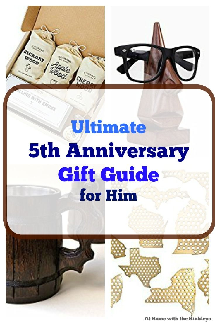 Best 25 5th wedding anniversary gifts for him ideas on for Best first year anniversary gifts for her