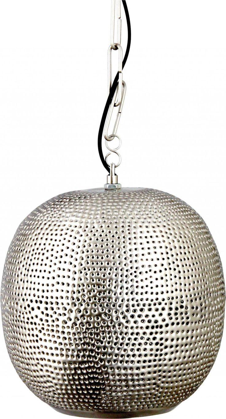 Deze betaalbare Oosterse hanglamp Aruna van Ranex is gemaakt van Aluminium en geeft een schitterend lichteffect op uw muren....