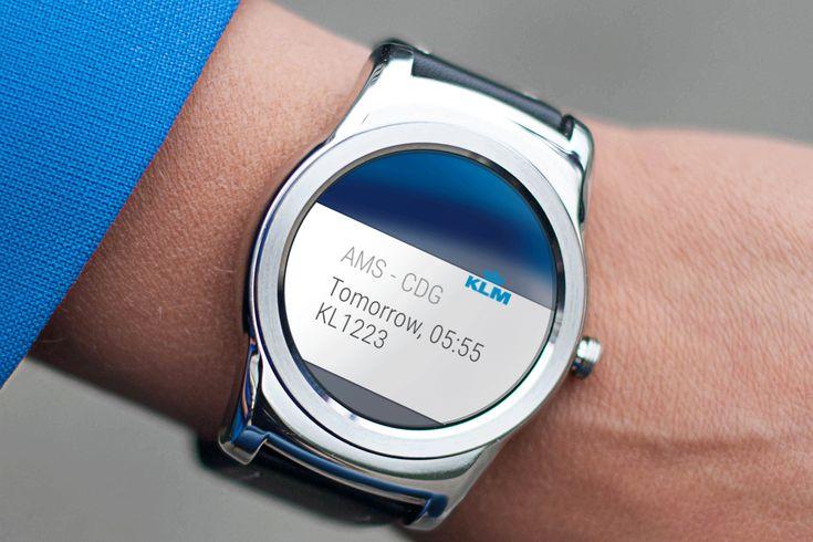 KLM a lansat o aplicaţie pentru ceasurile inteligente cu Android