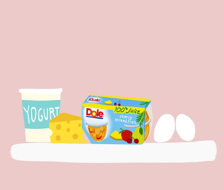 For all your items that have a shorter shelf life, like eggs + yogurt, place on center shelf so that you don't forget about them. This shelf is also where you should place any daily essentials- breakfast items or snacks u reach for regularly. For example, have fruit that's already cleaned, washed, cut, + ready to eat.  Center shelf is also a great storage spot for leftover. Designating a place for them, will help you remember to eat what's there before you add to it.