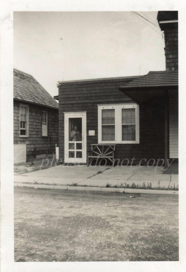 vintage 1947 snapshot photo beach haven nj lbi new jersey apartment cottage ebay historic. Black Bedroom Furniture Sets. Home Design Ideas