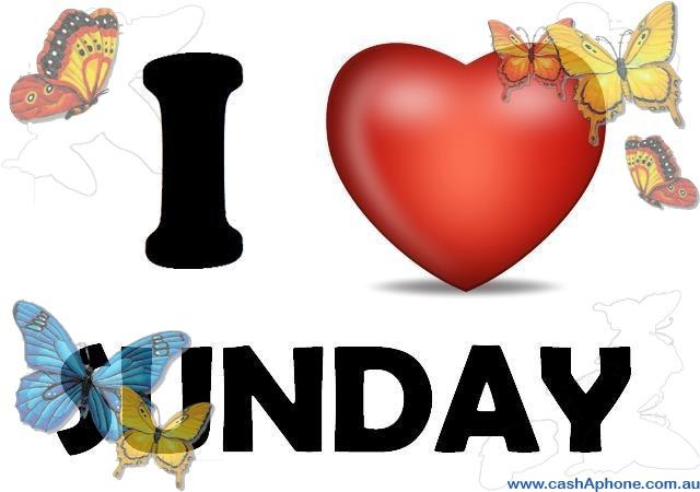 cashaphone loves Sunday