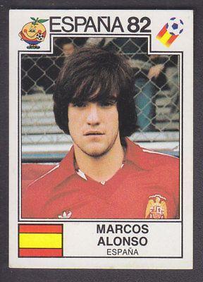 Panini - Espana 82 World Cup - # 304 Marcos Alonso - Espana