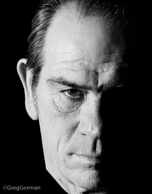 Tommy Lee Jones (1946) - American actor and film director. Photo by Greg Gorman