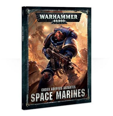 40K Miniatures 183473: Warhammer 40K Codex: Space Marines 8Th Edition New -> BUY IT NOW ONLY: $42.49 on eBay!