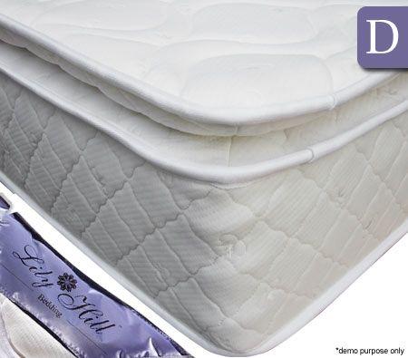 Memory Foam Top Pocket Spring Mattress - Double