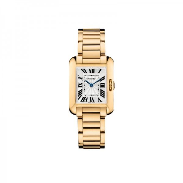 10 Classic Watches That Never Go Out Of Style |The Classic Cartier Tank Anglaise The Zoe Report