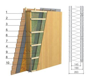 panneaux de murs ext rieurs avec isolation thermique de 250 mm et coefficient u 0 194 w m k 1. Black Bedroom Furniture Sets. Home Design Ideas