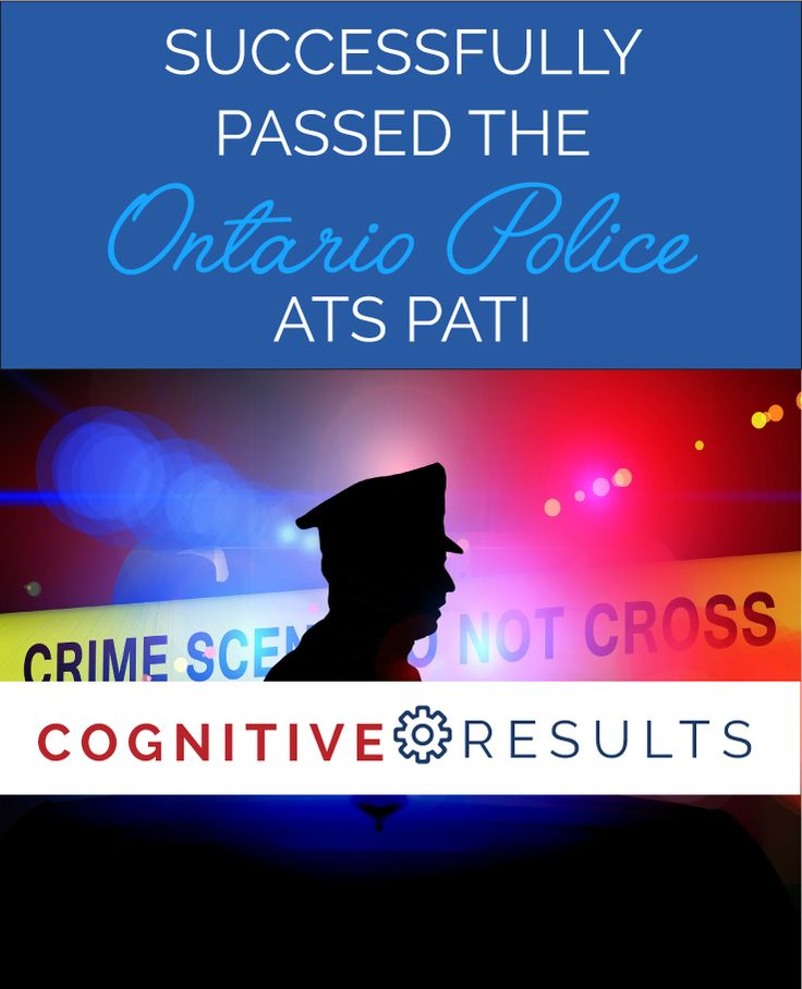 My clients tell it best - happy clients making career changes into law enforcement at https://cognitiveresults.com
