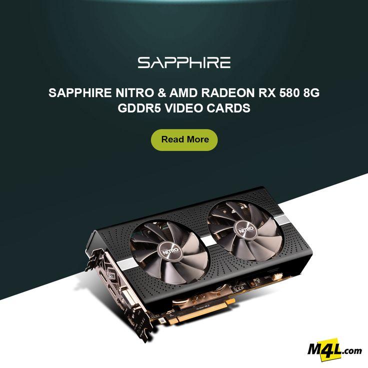 Sapphire Nitro Plus AMD Radeon Rx 580 8G GDDR5 Video Card