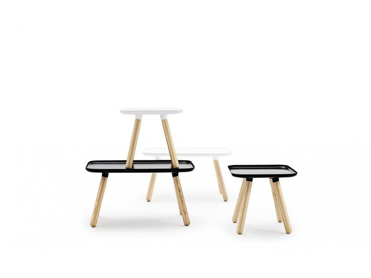 Stolik Tablo Prostokątny biały — Stoliki Normann Copenhagen — sfmeble.pl  #scandinavian  #style  #interior  #homedesign #furniture #table