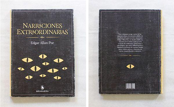 Libro - Narraciones Extraordinarias on Behance