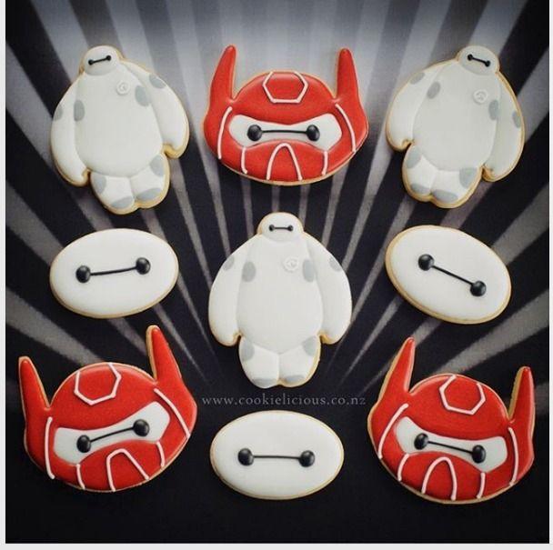 "Natalia Campbell on Instagram: ""Baymax cookies  we love making this super duper cute superhero! ❤️#baymaxcookies #bighero6 #superherocookies #decoratedcookies #cookieartist #nzcookier #decoratedcookiesnz #cookieliciousnz #Baymax #superheroes #cookieart"""