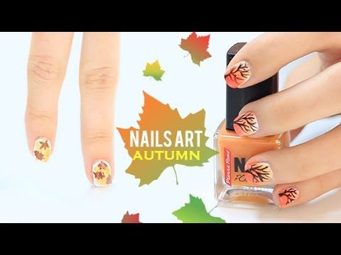 Autumn nails art
