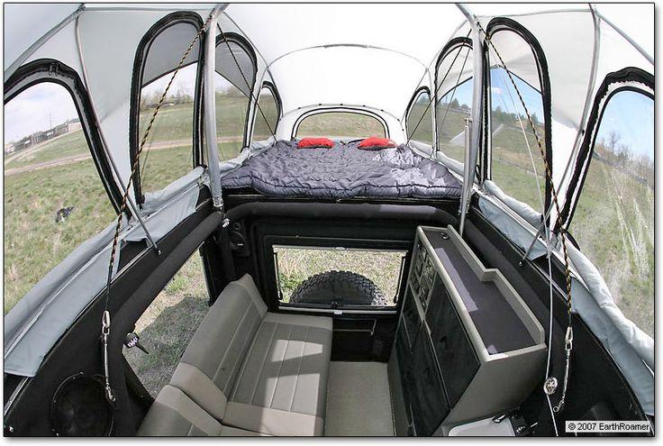 Loft Top Camper View Jeep Wrangler Interior Jeep