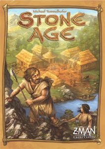 Stone Age   Board Game   BoardGameGeek   Haven't tried this yet. Supposedly good for 2-4 players, BUT has long play time of 60-90 minutes.