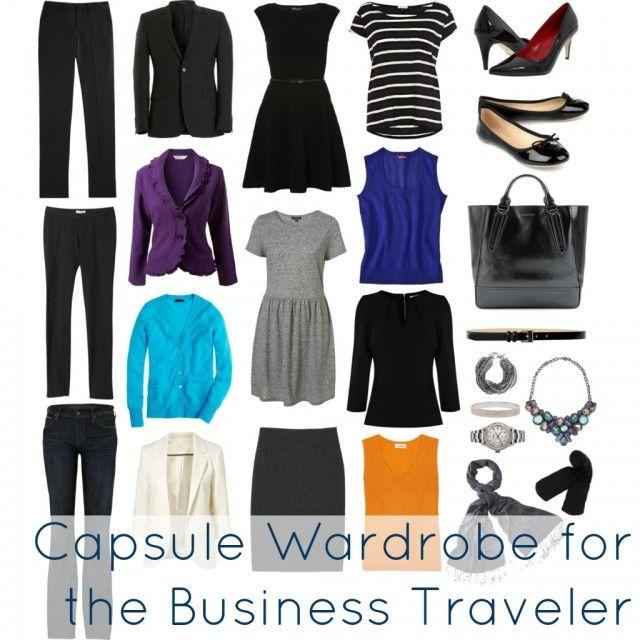 Business Travel Capsule Wardrobe - Wardrobe Oxygen