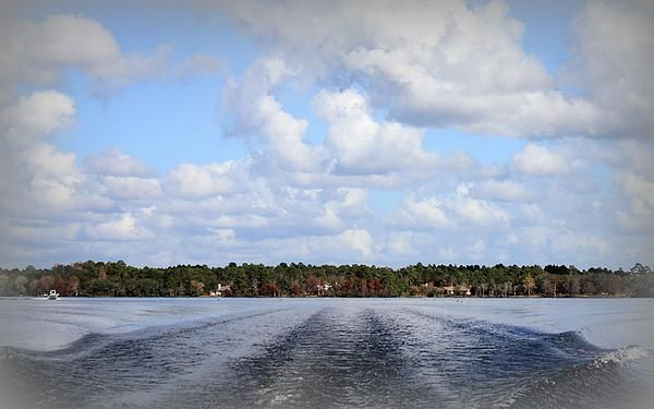 "Today is ""Water Wednesday"" This was captured while cruising along Deer Point Lake in Bay County Florida."