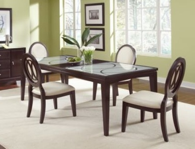 700 Cosmo Dining Table   Value City Furniture X X (has 1 Removable Leaf)