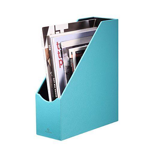Delightful Vlando Home Office PU Leather Organizer Collection Magazi... Magazine  HoldersMagazine ...